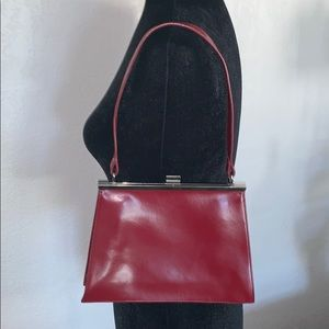 Wilson leather Red Purse